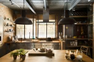 Kitchen And Home Interiors Industrial Kitchen Decor Interior Design Ideas