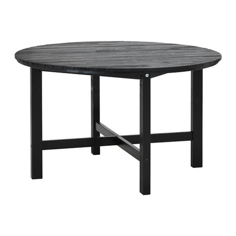 196 ngs 214 table outdoor black brown ikea