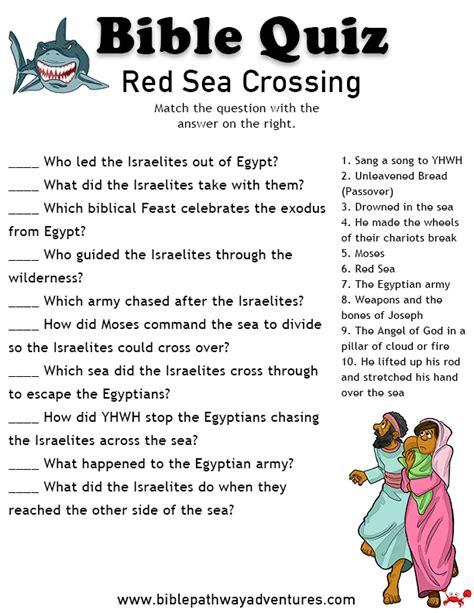 free bible quiz sea crossing sea quiz bible 536   3c8b97db24fe0b243f1207ff4da5f7f5
