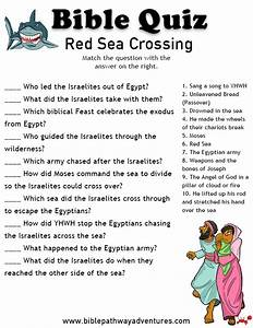 Free Bible Quiz Red Sea Crossing Red Sea Quiz Bible