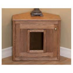 cat box furniture corner cat litter box nipandbones