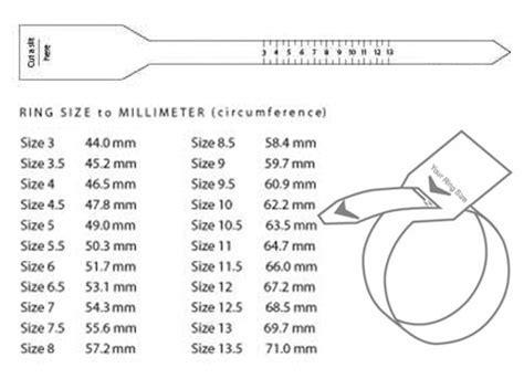 diy ring sizer ring size chart  men diy jewlry pinterest air force diy rings  hands