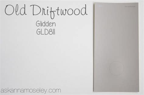 old driftwood glidden upstairs our home paint colors