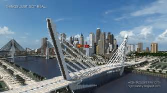 high rossferry a realistic modern city minecraft project