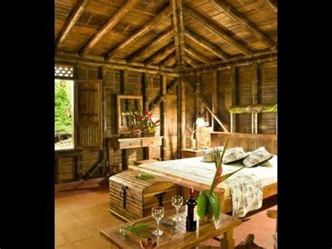 casas ecologicas cana bambu interiores youtube