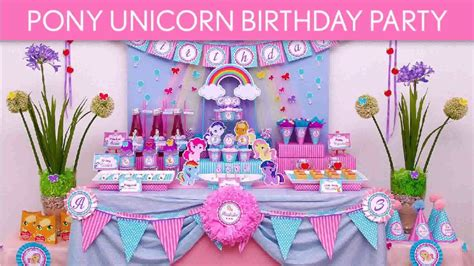 diy unicorn party decorations youtube