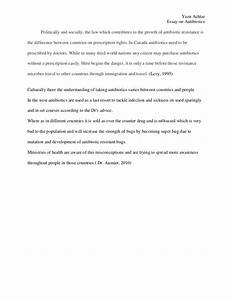 Example Of Essay Proposal Antibiotic Resistance Essay Conclusion Examples Learning English Essay also Narrative Essay Example High School Antibiotic Resistance Essay Dust Bowl Essay Antibiotic Resistance  High School Entrance Essay Examples