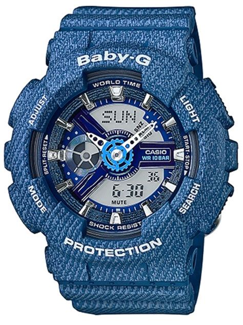 jam tangan casio protrek black casio baby g blue denim pattern limited edition