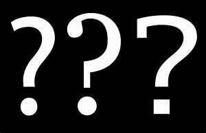 Question Marks Background Black And White | www.pixshark ...
