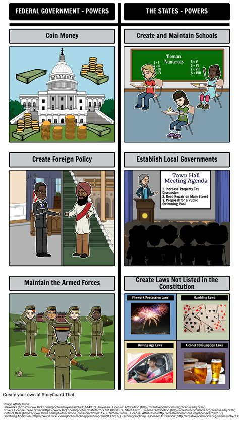 introduction  government federalism storyboard