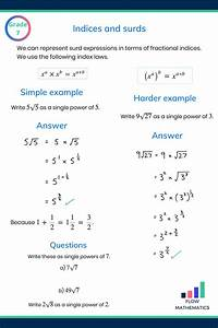 Indices Revision Guides  With Images