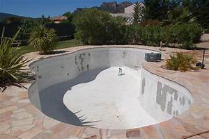 Renovation Piscine Carrelée : r novation piscine b ton tanch it piscine b ton ~ Premium-room.com Idées de Décoration