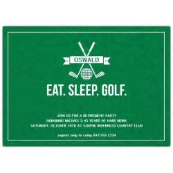 bridal luncheon invite eat sleep golf retirement party invitations paperstyle