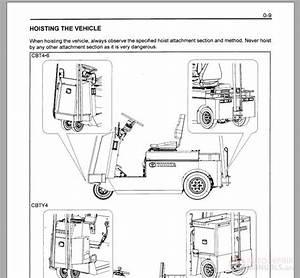 Toyota Forklift Cbt 4-6 Service Manual