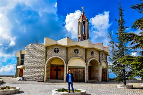 saint charbel church annaya lebanon