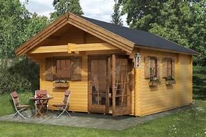 Garten Holzhäuser Aus Polen : gartenhaus holz mit schlafboden ~ Lizthompson.info Haus und Dekorationen