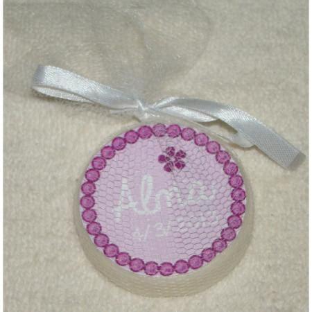 Souvenirs Jabones Artesanales Personalizados En Tul X 10