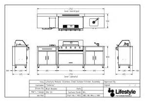 kitchen island floor plans bbq stainless steel bbqs outdoor kitchens built in