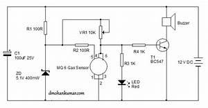 Mq6 Gas Sensor Circuit Diagram
