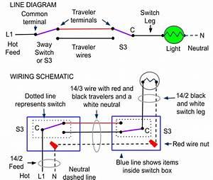 3 Way Switch Wiring Methods  3 Way Switch Wiring Methods
