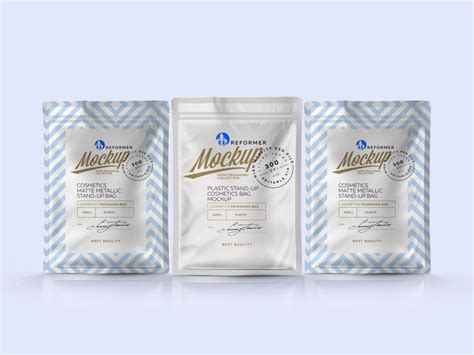 All free mockups consist of unique design with smart object layer for easy edit. Pouch Packaging Mockup | Free Mockup