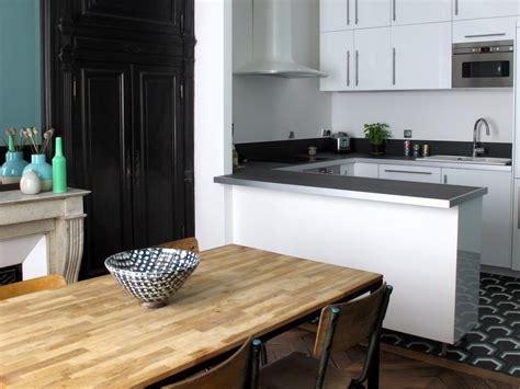 cuisine appartement parisien joli place site d 39 inspirations déco design et diy joli