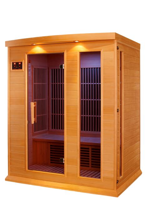 Amazon.com : DYNAMIC SAUNAS Maxxus 3 Per Low EMF FAR
