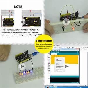 Super Starter Kit  Learning Kit Uno R3  For Arduino