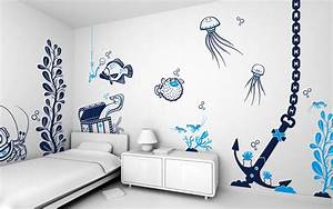 kids bedroom paint ideas for expressive feelings amaza With childrens bedroom wall painting ideas