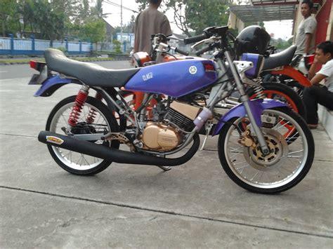 Modif Rx King Orange by Modifikasi Rx King Warna Ungu Unik Modif Sepeda Motor