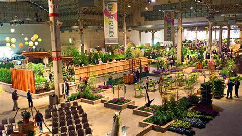 Flowers Everywhere At The Chicago Flower And Garden Show