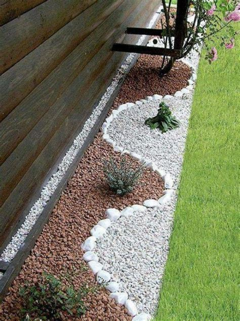 Garden Decoration by Garden Decoration With Stones For Look Of The