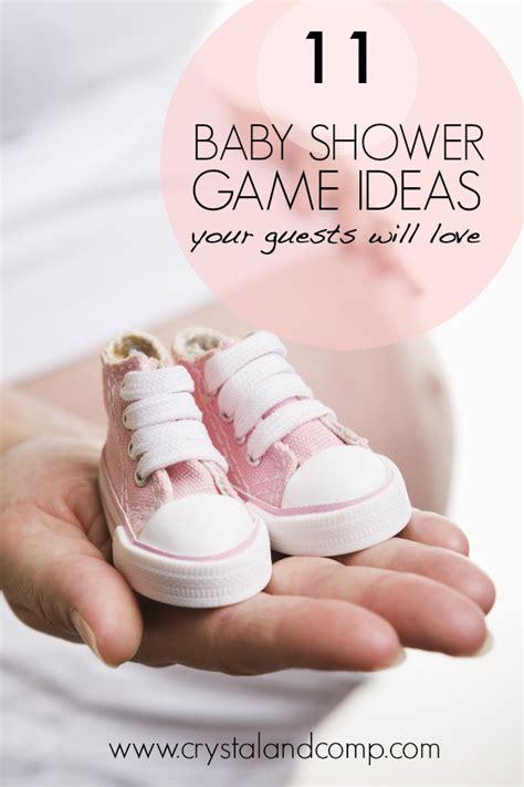 11 Baby Shower Game Ideas Crystalandcomp