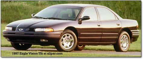 Dodge Intrepid, Eagle Vision, Chrysler 300m, New Yorker