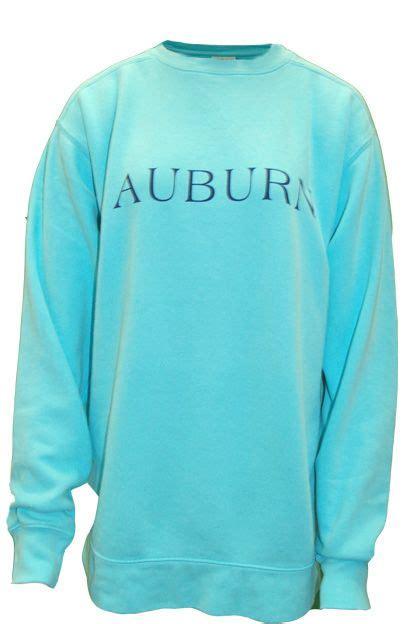 comfort color sweatshirts auburn sweatshirt auburn in