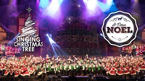 Bellevue Singing Christmas Tree 2015 Dates by 2016 Singing Christmas Tree A New Noel Youtube