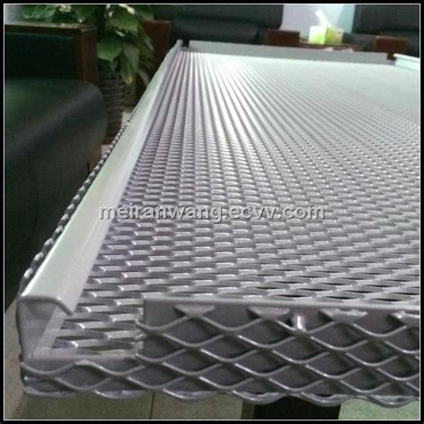 aluminum expanded metal ceilingperforated metal ceiling