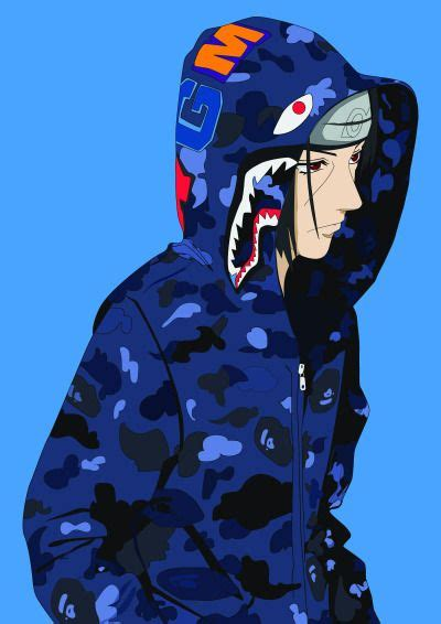 uchiha itachi naruto wallpaper bape cartoon naruto art