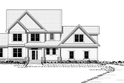 Traditional Style House Plan - 4 Beds 2.5 Baths 3498 Sq/Ft