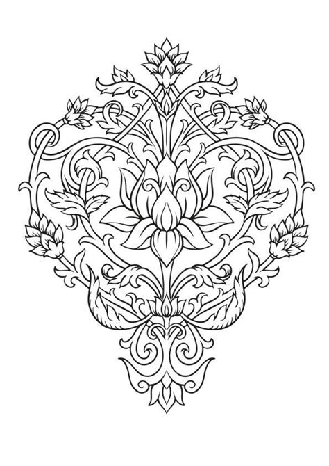 ornament image by chantel mouser | Coloring pages, Mandala