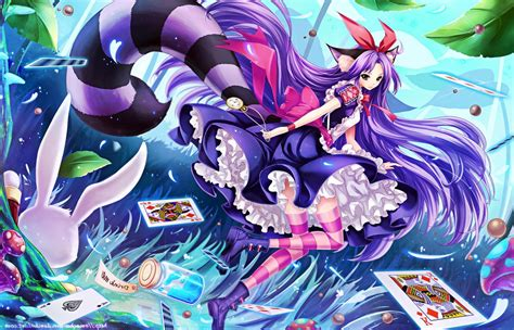 Cheshire Cat Neko Girl