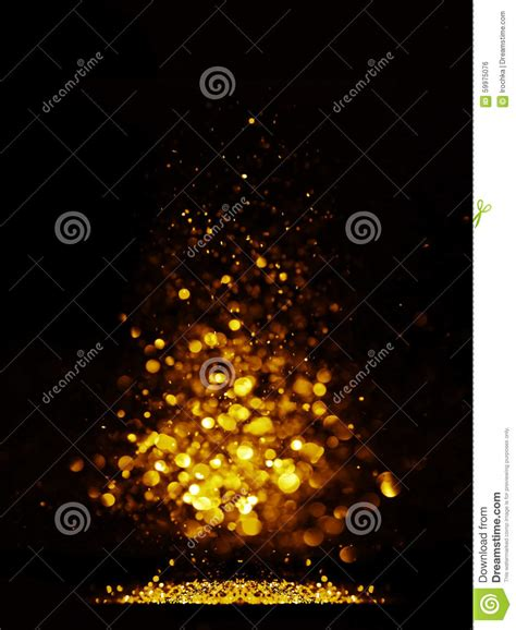 black and gold christmas lights glitter vintage lights background dark gold and black christmas card stock photo image 59975076