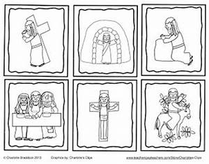 Free Holy Week Sequencing Cards from Charlotte's Clips and ...