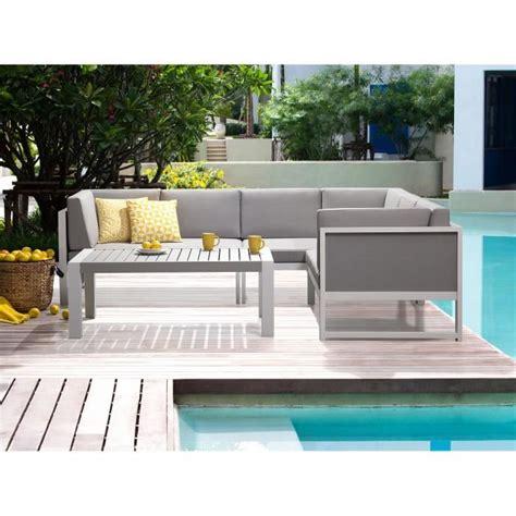 canape angle jardin salon de jardin canapé d angle et table basse