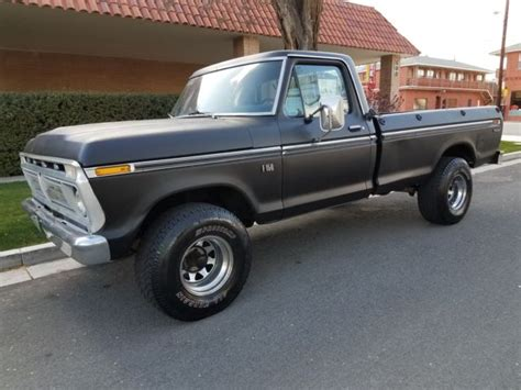 Single Cab Bed by 1976 Ford F150 Single Cab Bed 4x4 For Sale Ford F