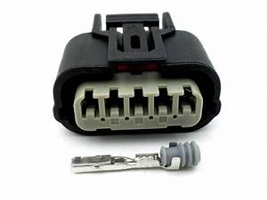 Motorcycle 5 Way Automotive Wiring Loom Harness Connector Plug