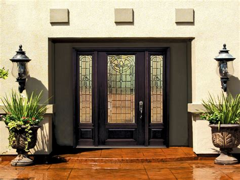 Decorative Front Doors With Glass Front Entry Doors