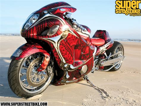 Custom Super Street Bike Hayabusa