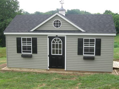 12x20 Shed by Amish Built 12x20 A Frame Vinyl Storage Shed With Upgraded