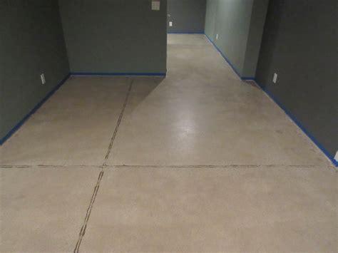 Epoxy Basement Concrete Stain Marysville Ohio